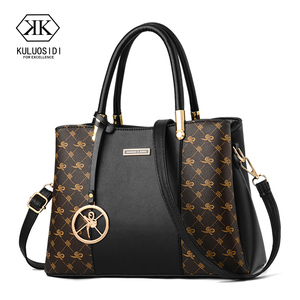 Image 1 - Luxury Handbags Women Bags Designer Women Leather Designer Handbags High Quality Bag For Women 2019 Ladies Hand Bags Sac a Main