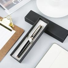 M&G luxurious metal fountain pen gel pen 0.5mm Piston ink absorption roller pen office gift pen business office supply 1601/1602 цены