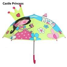 hot deal buy cartoon candy color castle princess patterns umbrellas kids children paraguas parasol lovely boys girls umbrellla umbrellas-01