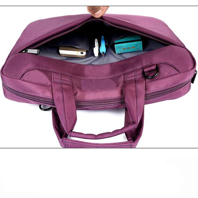 Laptop Bag 17 3 15 6 14 12 Inch Nylon Airbag Shoulder Handbag Computer Bags Waterproof Messenger Women Men Notebook 2018