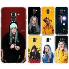 Billie Eilish Mais Velhos Quando Da Tampa Do Caso para Samsung Galaxy A50 A20e A70 A40 A20 A6S A8S S10 S10e S105G Plus transparente Telefone Shell(China)