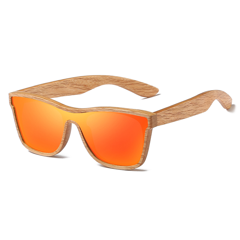 Kithdia Natural Polarized Wooden Sunglasses With Bamboo Sunglasses Box and Support Drop Shipping Provide Pictures KD205 in Women 39 s Sunglasses from Apparel Accessories