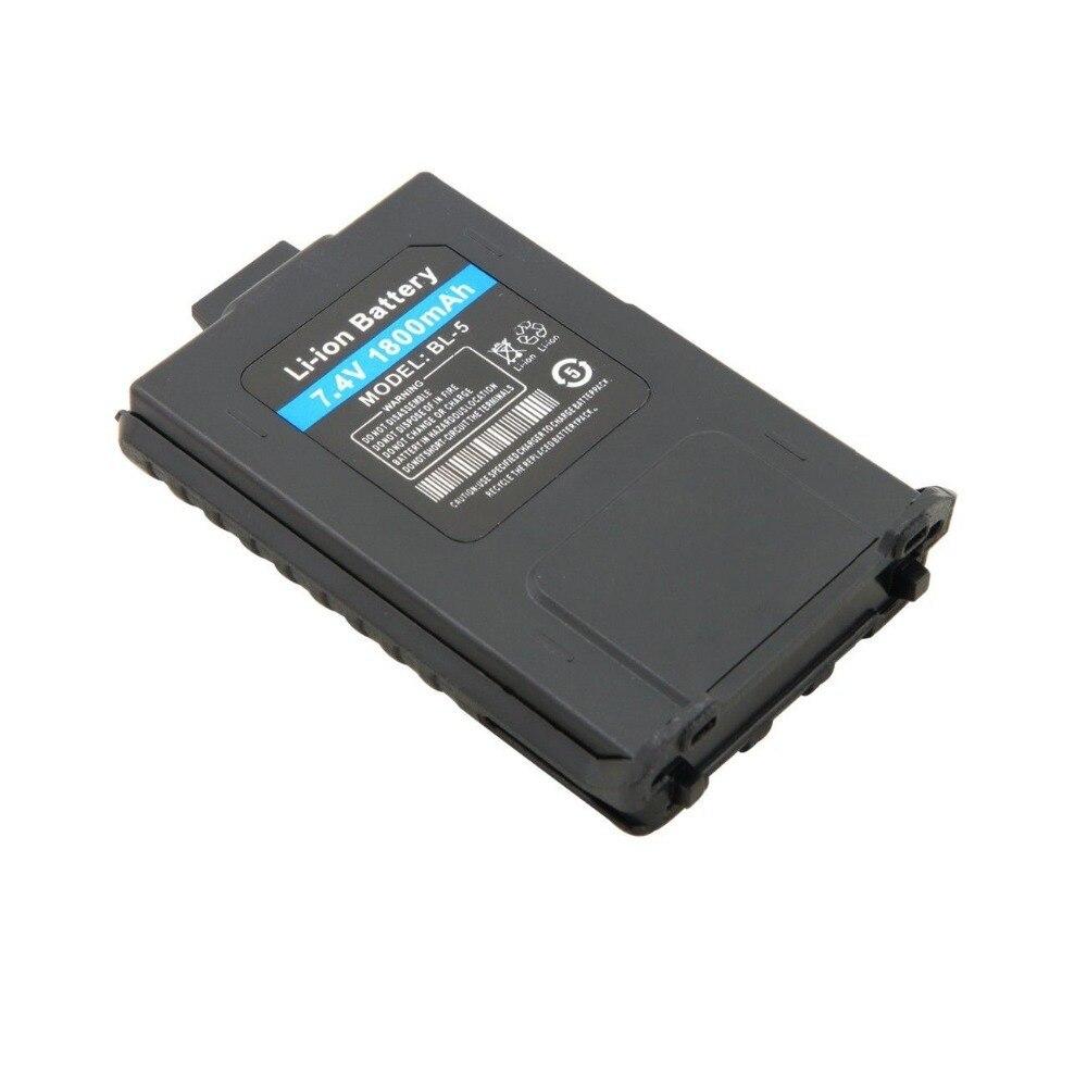 Baofeng 1800 MAH Li-Ion Battery For two way radio Baofeng Pofung UV-8HX UV-5R UV-5RA UV-5RE BF-F8 più TYT TH-F8 walkie talkie