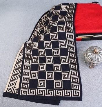 Дизайн моды Плед Шарф Мужчин Шерстяные Платки Зима Теплая Шарфы Роскошные Wrap Echarpe Человек Бизнес Шарф Бренд BF-134