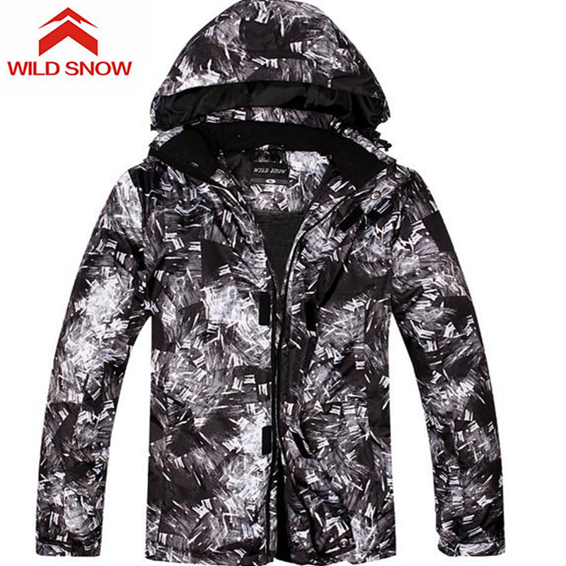 New Professional Men Snowboarding Ski Jacket Thermal Skiing Jackets Waterproof Winter Outdoor Snow Sports coat Climbing Hiking цена 2017