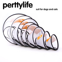 PERTTYLIFE Pet Dog Coat Collar Protective Collar Wound Healing Remedy Recovery Prevent Kitten Puppy Lic