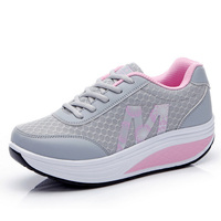 Women Running Shoes Lightweight Breathable Platform Swing Sneakers Women Outdoor Jogging Shoes Fitness Running Krasovki Women