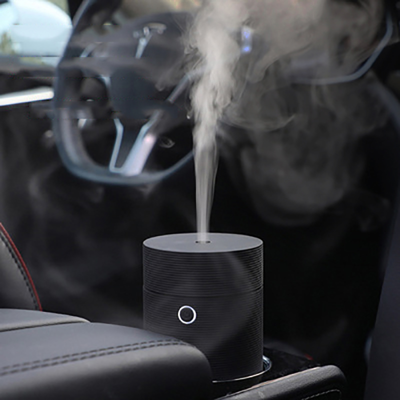 Car Humidifier Ultrasonic Mini Diffusers Car Air Purifier Aroma USB Mist Fogger 55ml Watertight design for Home Car mini vase design car air purifier usb ultrasonic humidifier