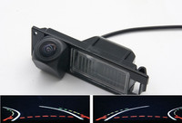 Trajectory Tracks Fisheye Lens Car Rear view Camera for Opel Astra H J Corsa D Meriva A Vectra C Zafira B FIAT Grande Insignia