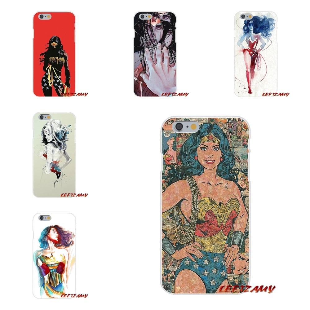 Wonder Woman hero Аксессуары телефон чехлы для sony Xperia Z Z1 Z2 Z3 Z4 Z5 компактный M2 M4 M5 e3 T3 XA Aqua