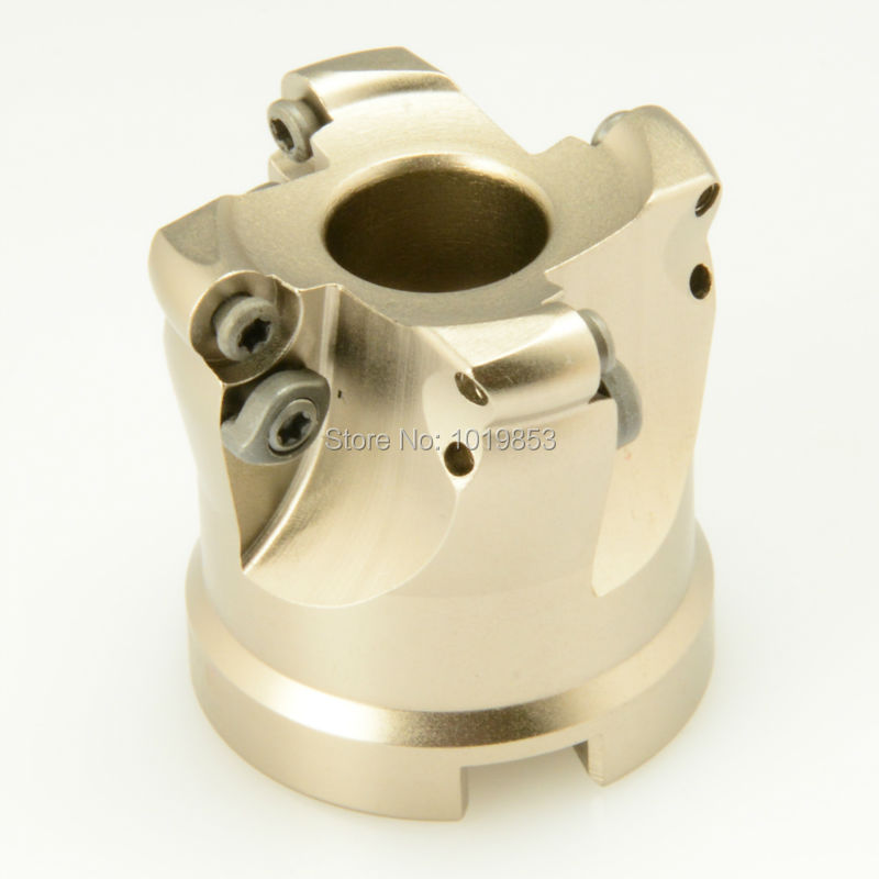 TRS-6R-50-22-4T indexable shell mill face milling cutter for round RD**1204 carbide inserts