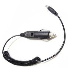 Ładowarka samochodowa walkie talkie 12/24v ciężarówka linie do napełniania samochodów kabel do ładowarki do baofeng UV 5R uv 3r + 888s dwukierunkowe akcesoria radiowe