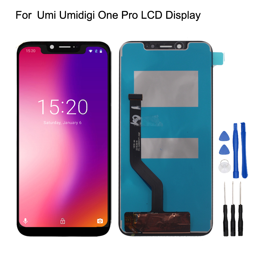 Original For UMI UMIDIGI One Pro LCD Display Touch Screen Digitizer Assembly Phone Parts