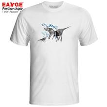 I Am The Boss Office Culture T-shirt T-Rex Casual Dinosaur Skate Novelty T Shirt Fashion Active Cool Women Men Top