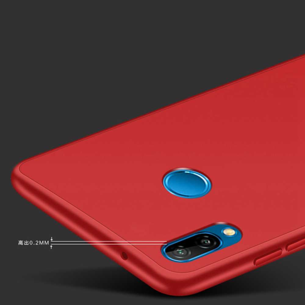 Phone Case For Huawei P30 Pro Case 360 Silicone Soft Cover Case For Huawei P20 Lite P Smart 2019 Honor 10 Lite 8X Case Original