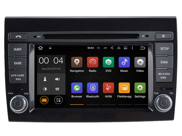Android 7 1 font b Car b font Dvd Navi Player FOR FORD FOCUS 2015 2017