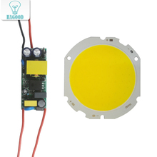 1pcs 3W-30W COB Led Light Source Board Panel Bulbs with AC110-240V Input LED Power Supply Driver diy diode lamp Spotlights diy