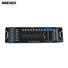 Frete grátis NOVO 192 DMX Controlador de Iluminação de Palco DJ equipamentos DJ Controlador DMX Console para Par LEVOU Moving Head Focos