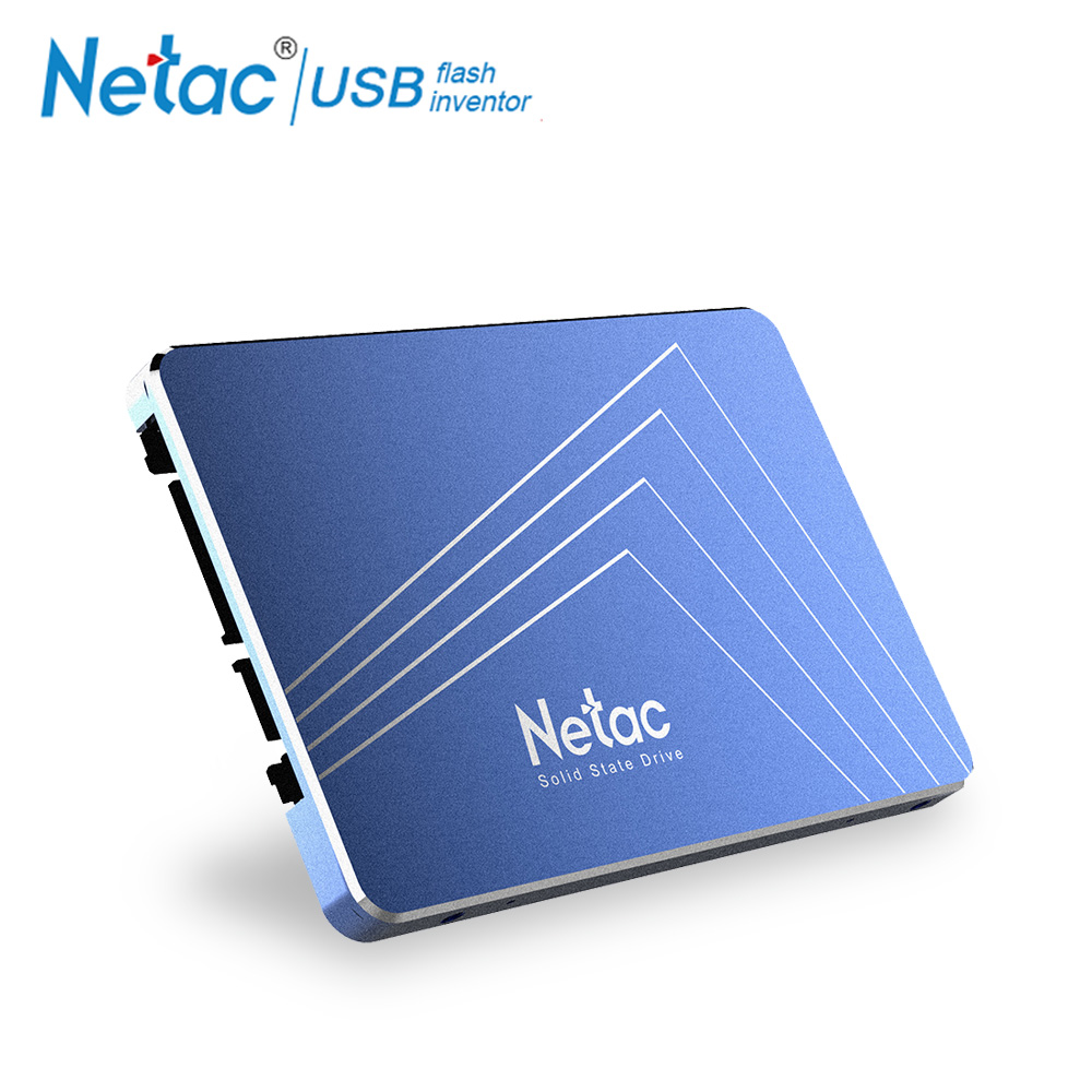 Netac SSD Hard Drive SATA3 6Gb/s 360GB 430GB TLC Internal Solid State Drive 2.5 Laptop Hard Drive Disk For Notebook PC Computer netac original 430gb ssd disk tlc 530mb s internal solid state drive hd 360gb ssd disk drives for laptop notebook hard disk ssd