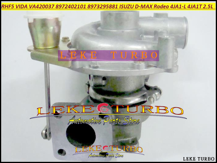 Free Ship RHF5 VIDA 8972402101 8971856452 Turbo Turbocharger For ISUZU D-MAX Rodeo Pickup 2004- 4JA1-L 4JA1L 4JA1 2.5L TD 136HP free ship turbo cartridge chra for isuzu d max rodeo pickup 2004 4ja1 4ja1 l 4ja1l 2 5l rhf5 rhf4h vida 8972402101 turbocharger