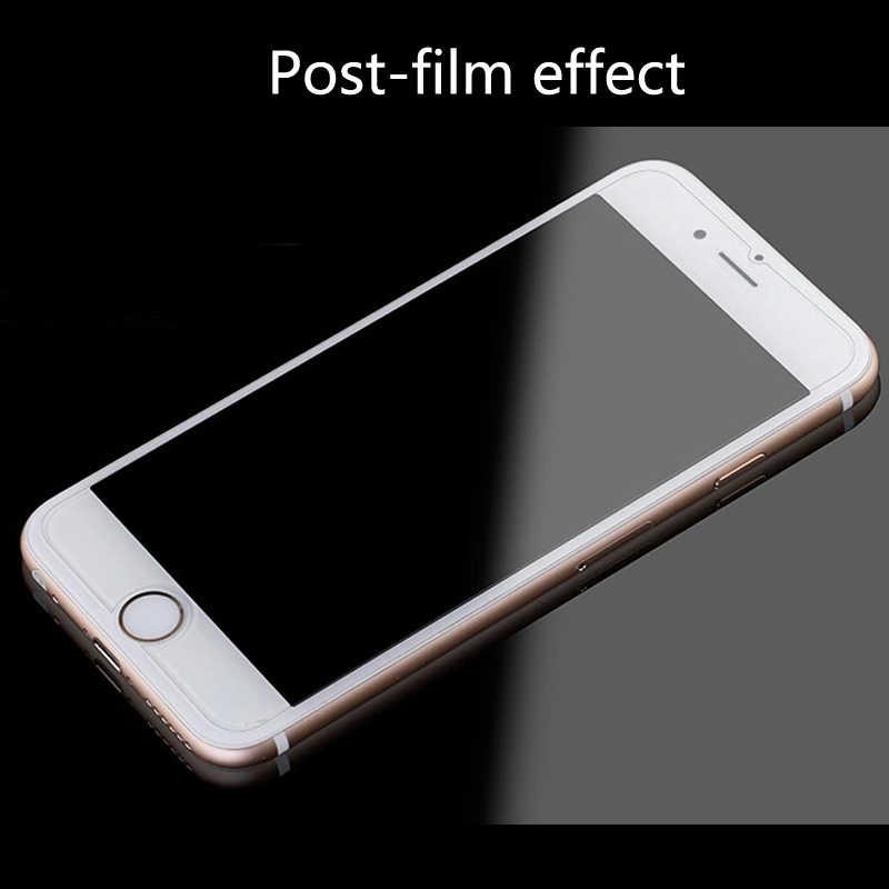 Vidrio templado para iphone 5s se 6 6s 7 8 plus XS max XR de vidrio para iphone 7 8 x película para iphone 6 6s protectores de pantalla