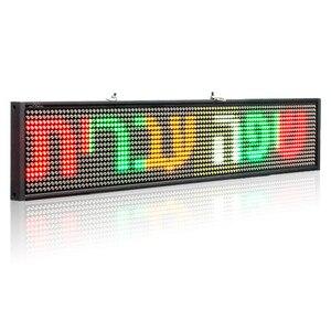 Image 2 - 12V P5mm SMD รถ LED ป้ายเลื่อนโปรแกรมหลายสี TaxI ธุรกิจโฆษณาสี + 2 Sucker