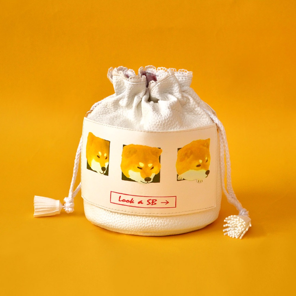 Princess sweet lolita bag Original design firewood dog sprouting dog bucket very popular Mini Bag female slanting bag CC023 our very own dog