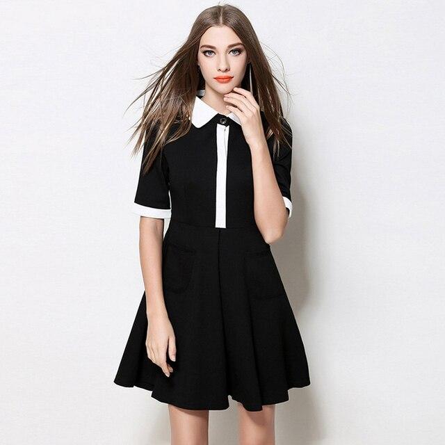 Vestido preto para magras
