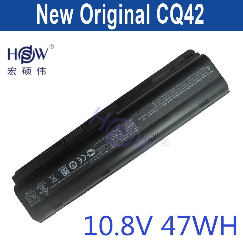 HSW New   Laptop Batteries for HP Pavilion G4 G6 G7 CQ42 CQ32 G42 CQ43 G32 DV6 DM4 430 593553-001 MU06 batteria 574680 001 1gb system board fit hp pavilion dv7 3089nr dv7 3000 series notebook pc motherboard 100% working