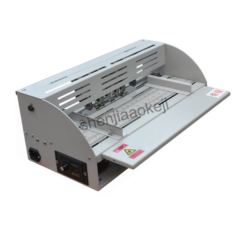 A3 size creaser electric paper creasing machine art paper business a3 size creaser electric paper creasing machine art paper business card greeting card color page cover album making creasing in paper trimmer from computer m4hsunfo