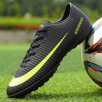 ZHENZU nouveaux hommes garçons enfants gazon intérieur chaussures de Football formation Football bottes Football crampons sport baskets Eur taille 35-45