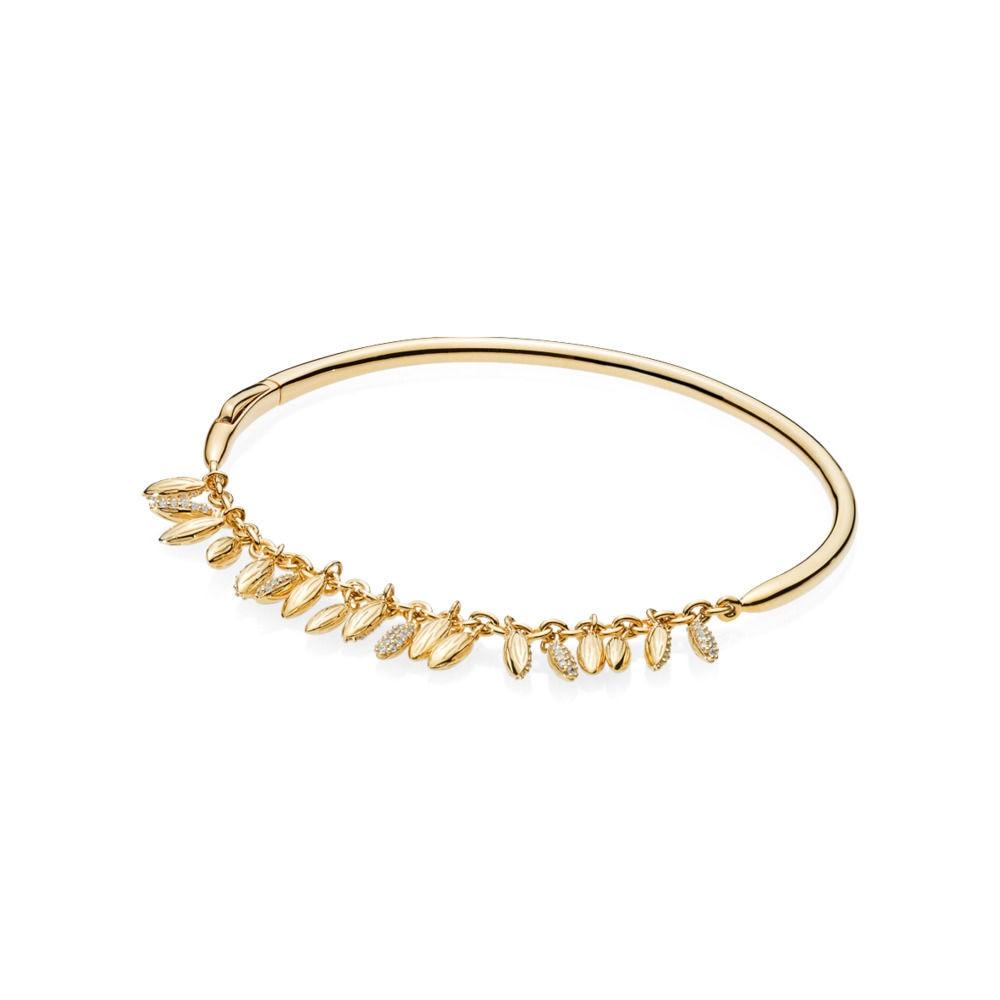 17.5 CM/19 CM 925 argent Sterling Bracelets breloques or Paddy pendentifs Bracelets pour femme ajustement bricolage perles breloques