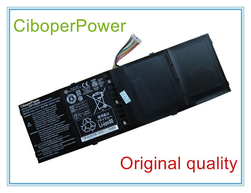 Original Laptop Battery For V5 M5-583P V5-572P V5-573G V5-572G AP13B3K 15V 53WH makita gd0810c