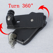 Gopro Hero Accessories Nut Seat 360 Degree Rotary Quick Clip/Clamp Fast Clip Mount For GoPro Hero4 3+ 3 2 SJ4000 SJ5000 SJ6000