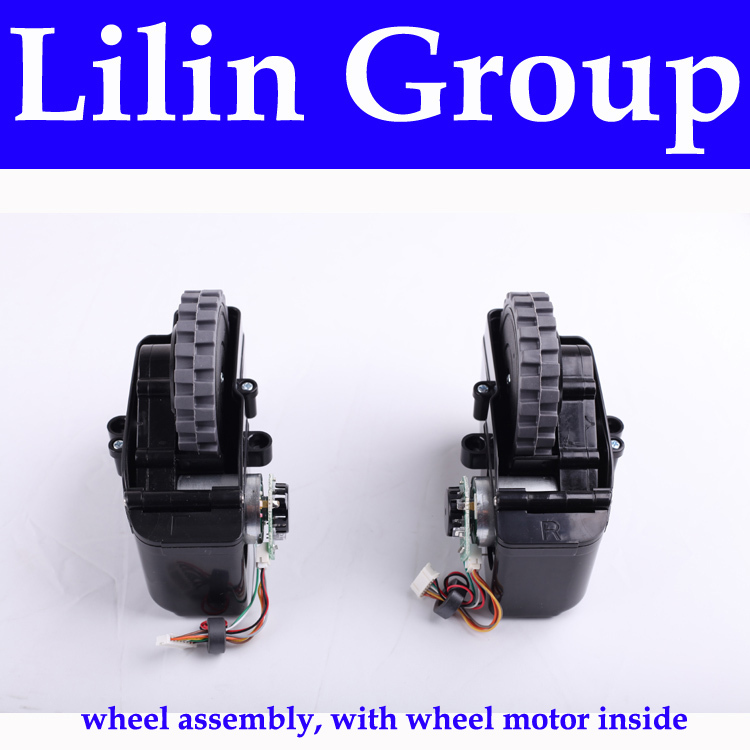 (For X500,B2000,B3000,B2005) Left & Right Wheel,with Wheel Motor Inside, 1 Pack Includes 1*Left Wheel + 1 Right Wheel for x500 b2000 b3000 b2005 left