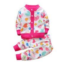 6fcc87283 Biblical bebé niñas juegos de ropa traje de dibujos animados lindo chica  Otoño Invierno ropa niños