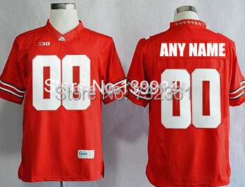 reputable site 4d1e8 09705 kids ohio state buckeyes customized red jersey