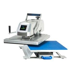 Image 4 - Camiseta de tela de alta presión por sublimación de calor máquina de prensado en caliente manual CH1804 tamaño 40cm x 50cm (16x20 inch)