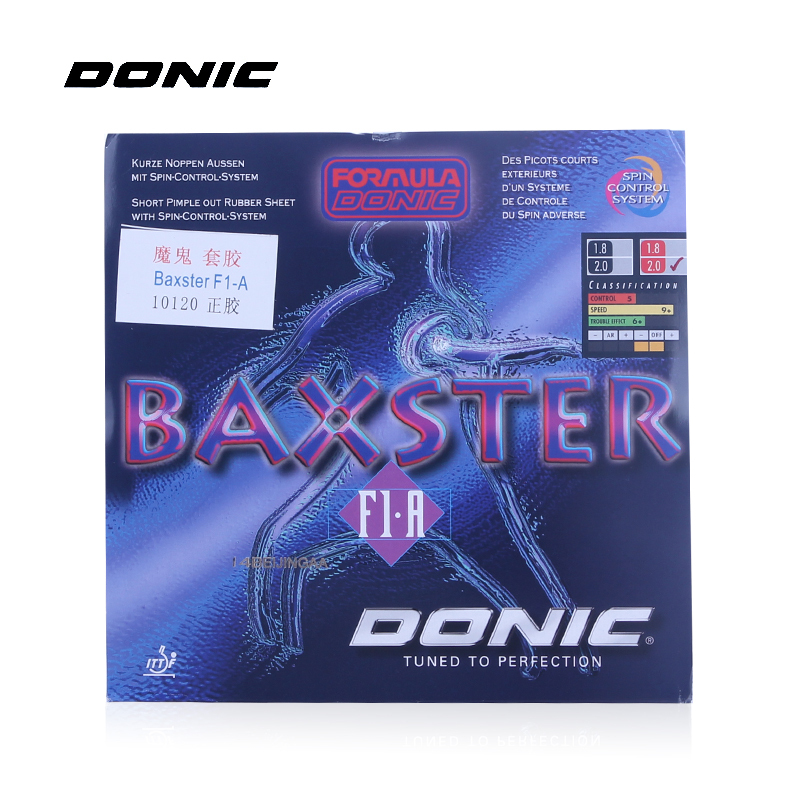 DONIC BAXSTER F1-A Pips-out Table Tennis Rubber Ping Pong Pimples Out With Sponge Tenis De Mesa andro rocket pimples in table tennis rubber pips in ping pong sponge tenis de mesa