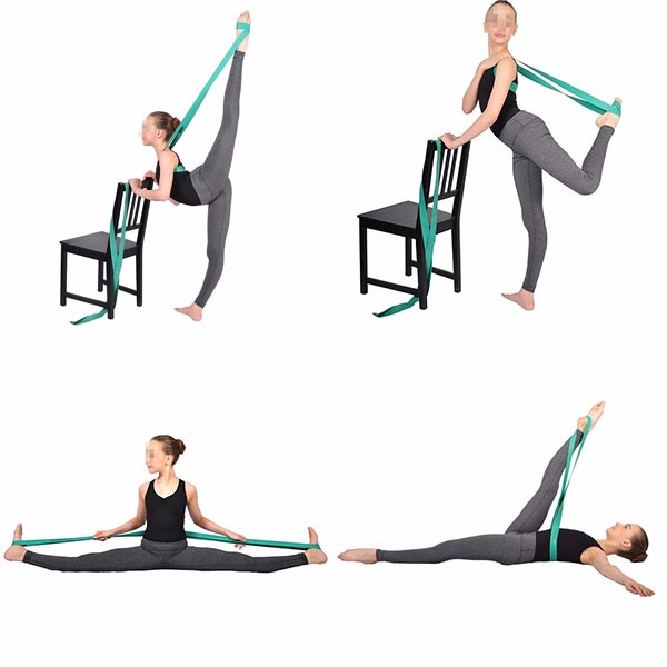resistance chair accessories polymer adirondack chairs ballet dance bands elastic soft opening pull rope stretch yoga band for dancer
