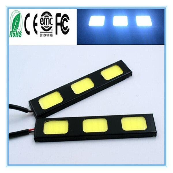 2бр. / Много нови водоустойчиви COB - Автомобилни светлини - Снимка 1