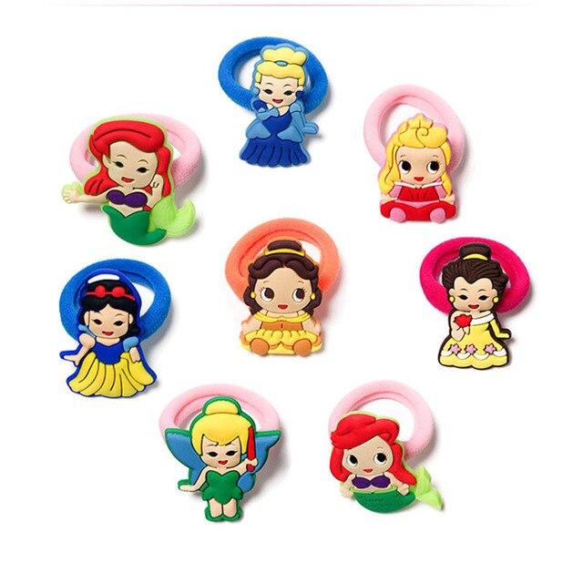 1pcs Nylon Cute Cartoon Elastic Hair Rubber Band Headbands Kids Hair Accessories Girl Hair Band  Party Supply