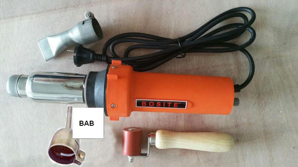 Free shipping PVC plastic floor sports tools 220v 2000w hot air plastic welder gun,plastic welding gun,hot air welding machine original switch on off power