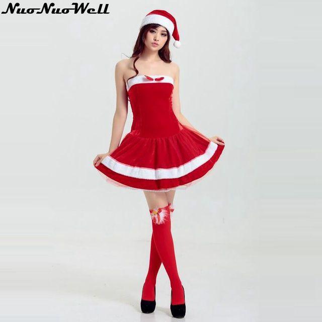 Sexy Fräulein Weihnachtsmann