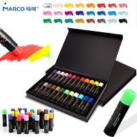 Marco Crayons Pastel Painting Pencil 24 Colors Set Art Drawing Set Chalk Color Crayon Yeus Face