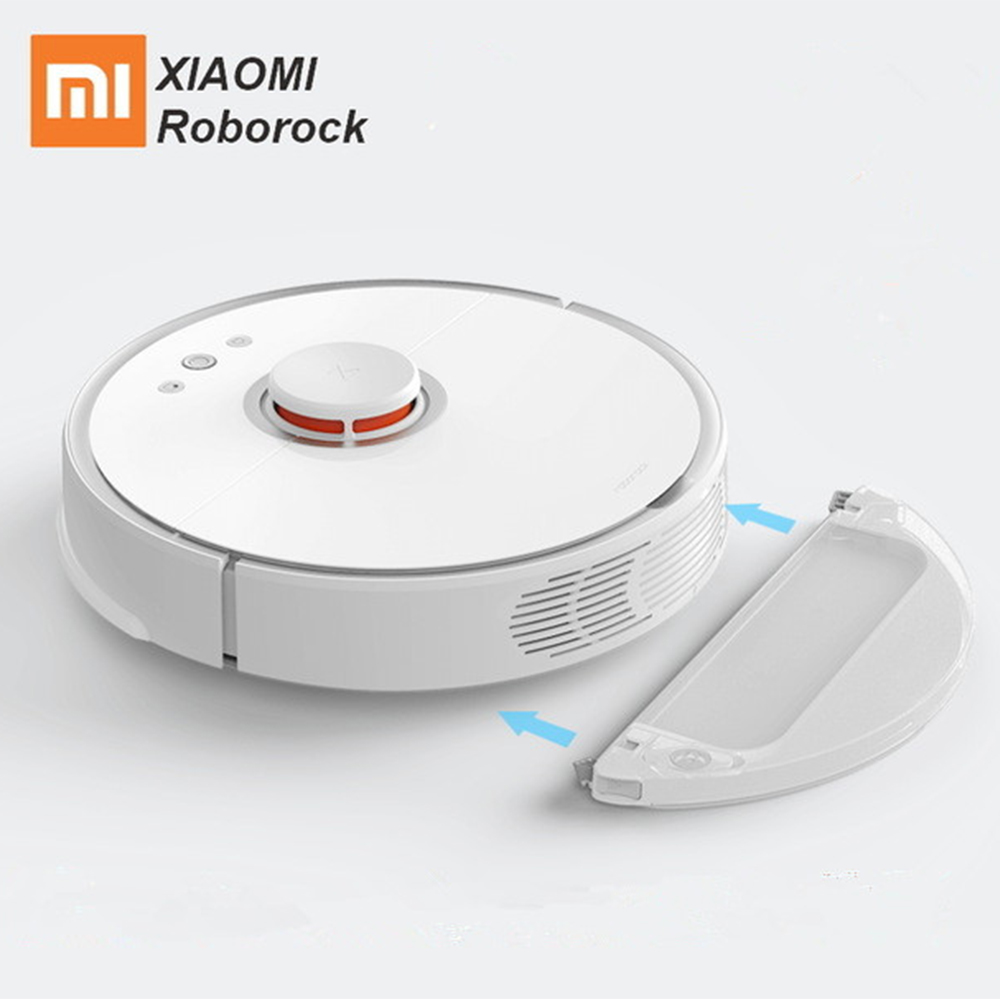 Xiaomi Roborock S50 Xiaomi MI Robot Vacuum Cleaner 2 For Home Automatic Sweeping Dust Sterilize Smart Planned Washing Mopping 2017 new original xiaomi mi robot vacuum cleaner roborock s50 for home automatic sweeping dust sterilize mop smart planned wifi