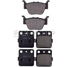 цена на For HONDA TRX500 FM5 FM6 Foreman Rubicon 4x4 / EPS 2015 TRX 500 Motorcycle Front Rear Brake Pads Brake Disks
