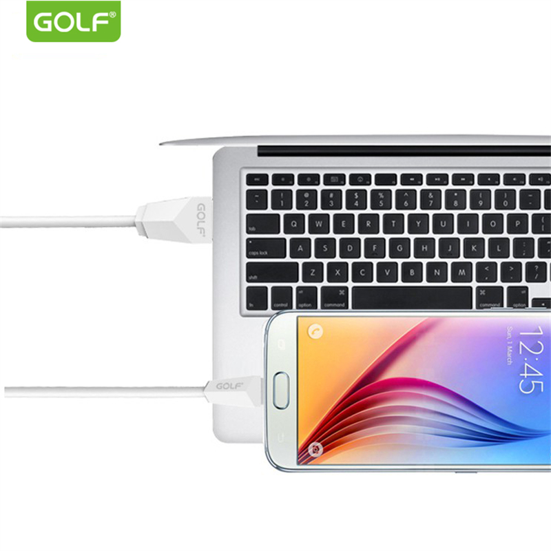 GOLF Micro USB Charging Cable for Samsung S4 S6 S7 Edge Galaxy Note2 Note4 Android Phone USB Charger Cable for Redmi 5A 6A 5Plus in Mobile Phone Cables from Cellphones Telecommunications