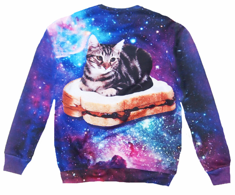 Aliexpress.com : Buy New harajuku style galaxy space cat ...