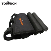 Tourbon Wholesale Shooting Black Rifle Buttstock Cheek Rest Holds Ammo Free Shipping